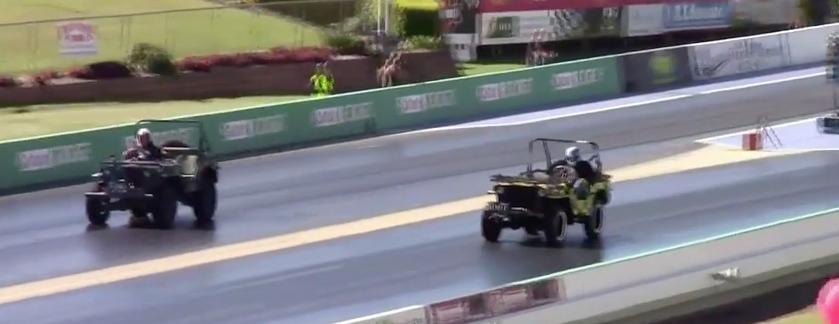 Military Jeep Drag Racing…In Australia?! Featured