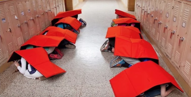 """Op-Ed: Yes, New """"Bulletproof Blankets"""" Being Handed Out Teach Our Children To Be Victims Featured"""