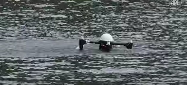 You've Gotta Check Out This Flying Drone That Can Stay Submerged Underwater For Months Like A Nuclear Sub! Featured