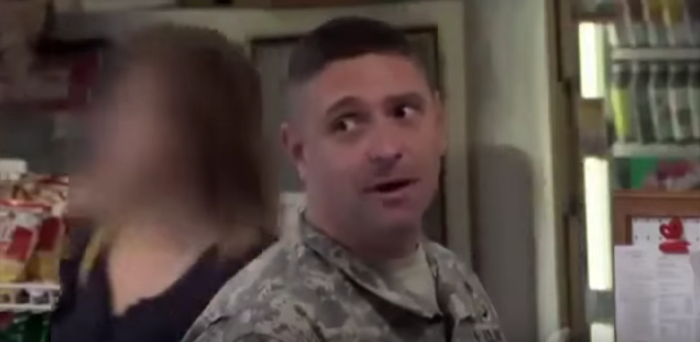 U.S. Soldier Stands Up For Muslim Deli Worker Being Harassed Featured