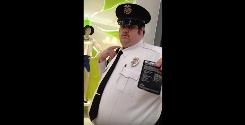 Watch This Mall Cop Try To Kick A Navy SEAL Out Of A Mall For Talking Religion Featured