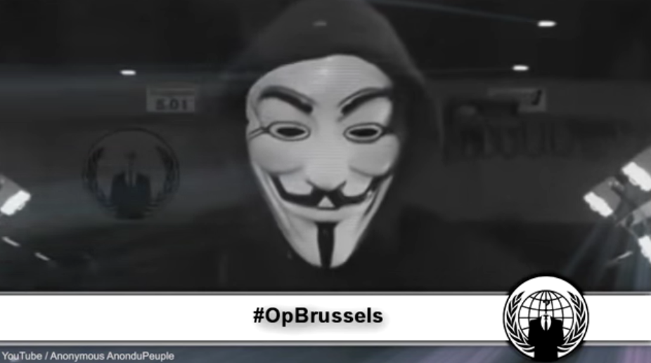 Anonymous Releases Grave Warning To ISIS After Brussels Attack Featured