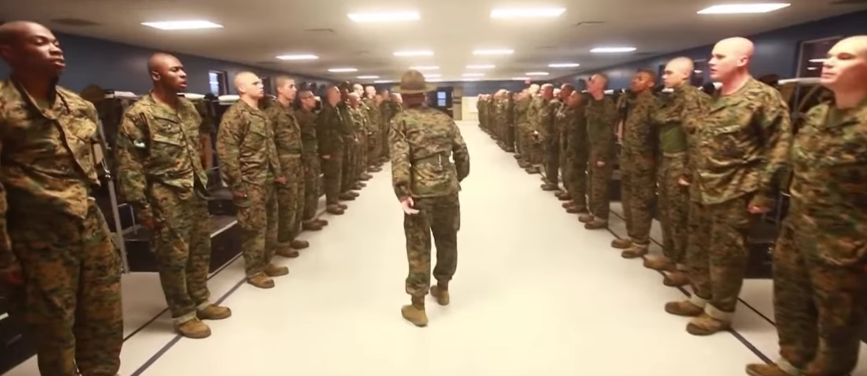 Watch These Innocent School Teachers Experience Marine Recruit Training Featured