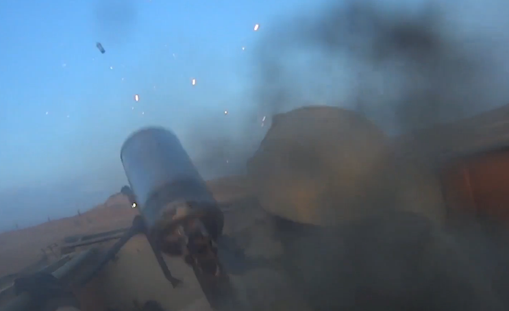 Watch Footage From This ISIS Fighter's Headcam Until He Dies Featured