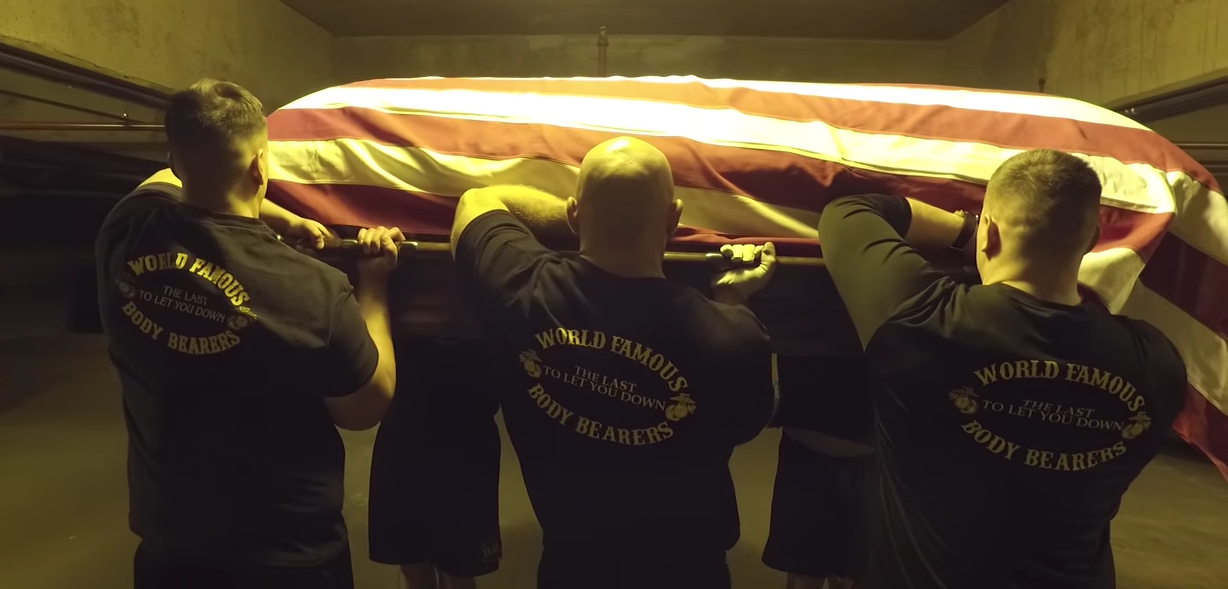 This Video Shows You The Training And Life Of A Marine Corps Body Bearer Featured