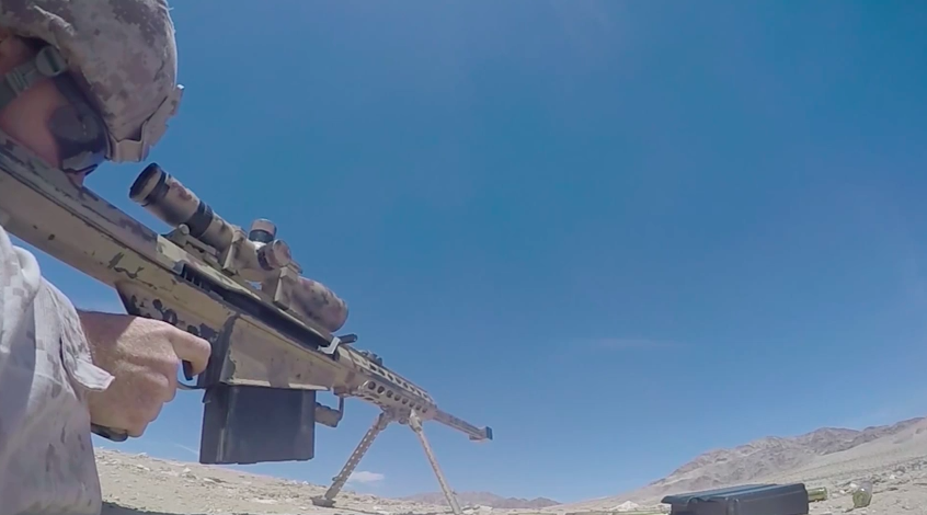 See How U.S. Marine Scout Snipers Practice Their Aim In HD Footage Featured