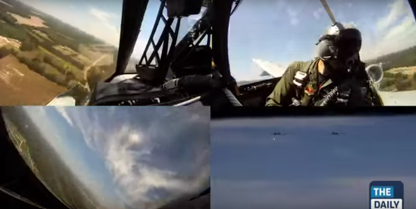 Here It Is: Video Being Inside An Exciting Attack Run With An A-10 Warthog Featured