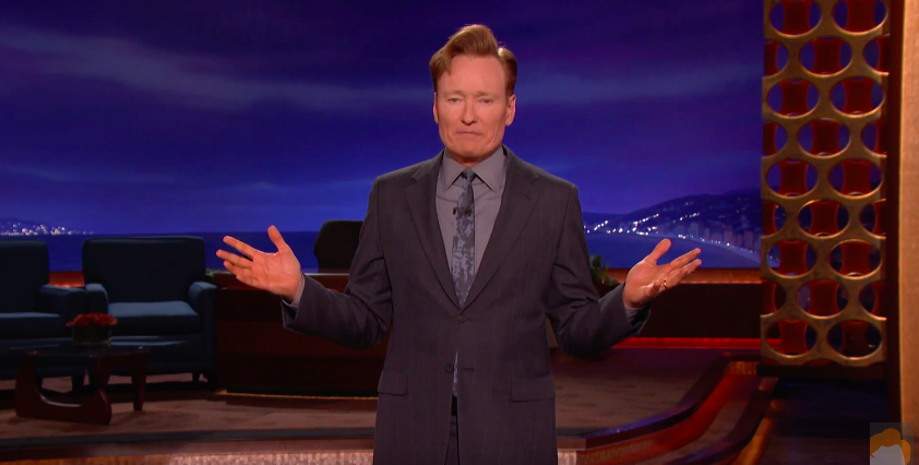 After Orlando, Conan O'Brien Has The Most Ignorant Rant On Guns Of Any Celebrity Featured