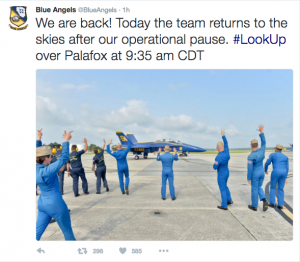 Blue Angels Return To Skies For First Time Following Tragic Death Of Capt. Jeff Kuss Featured News
