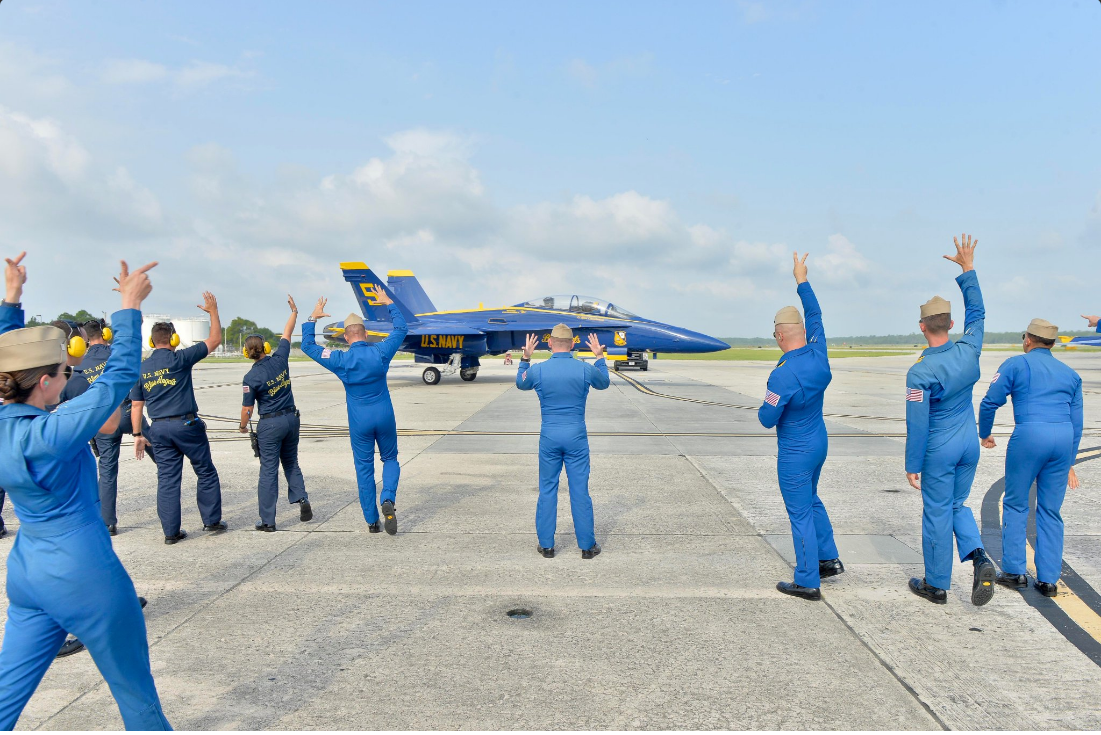 Blue Angels Return To Skies For First Time Following Tragic Death Of Capt. Jeff Kuss Featured