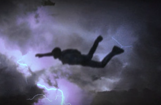 """Watch This WW2 Vet Pilot Eject At 47,000 Feet And """"Ride Thunder"""" In Lightning Storm Featured"""