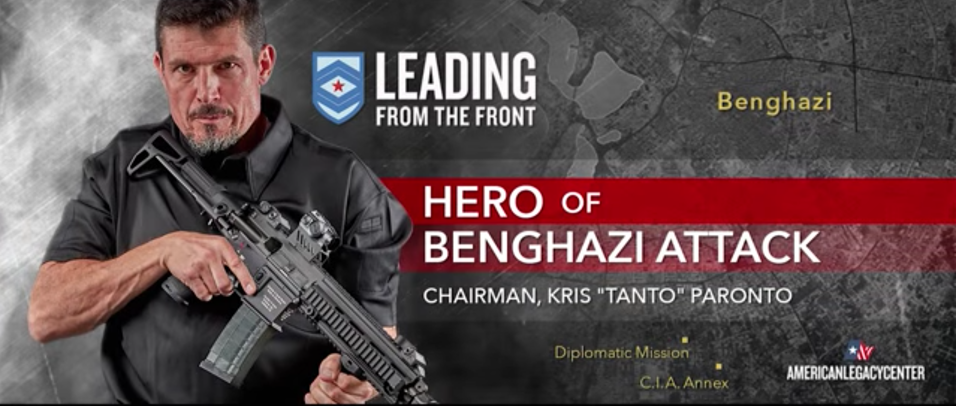 """Benghazi Hero Kris """"Tanto"""" Paronto Launches New Campaign To Attack Hillary Clinton And Radical Islam Featured"""