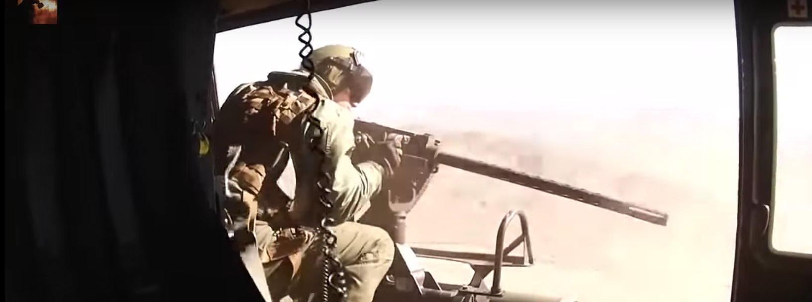 HD Combat Footage From Afghanistan: Door Gunners Engage In Heavy Firefight Featured