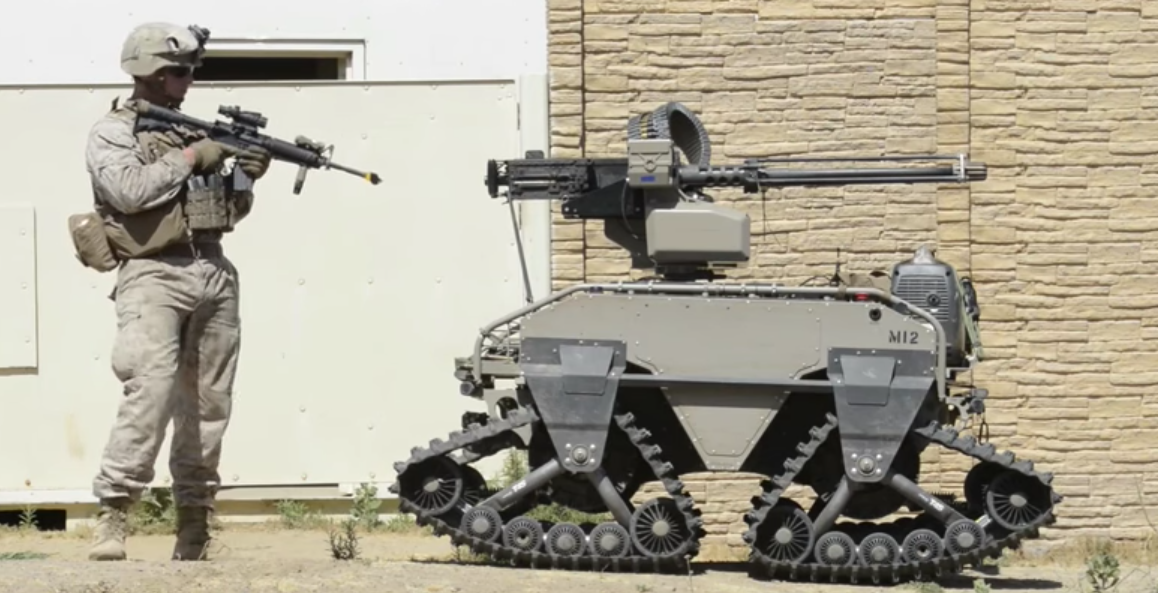 See U.S. Marines Train With Insane Futuristic Military Combat Robots Featured