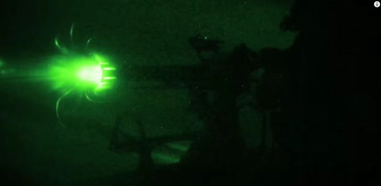 Awesome HD 60FPS Video Of Marines Shooting Miniguns & Machine Guns Over Water, Desert, At Night Featured