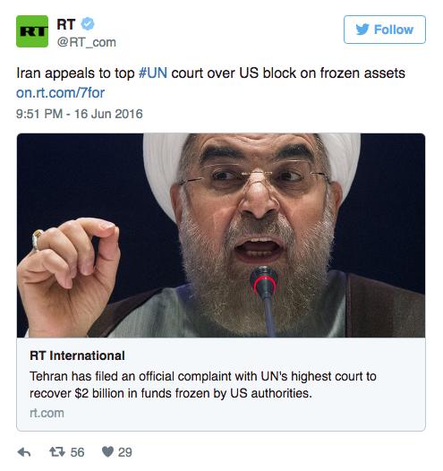 Screen Shot 2016 08 08 at 4.41.34 PM - Former Iranian President Ahmadinejad Demands Obama Return $2 Billion & Mocks Him In Letter