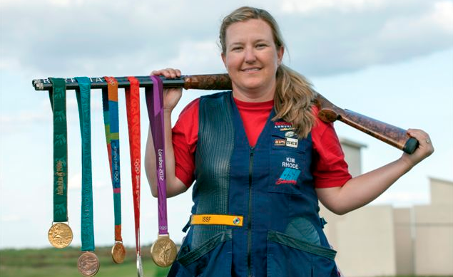 """Current & 6 Time U.S. Olympian Shooter Kim Rhode Trashes Anti-Freedom """"Gun Control"""" Featured"""