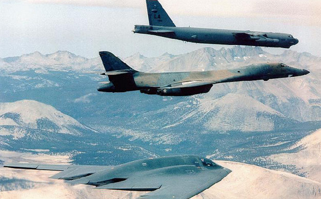 U.S. Reminds China Who's In Charge With Historic Flight: Flies One of Each 3 Nuclear Bombers Over The South China Sea Featured