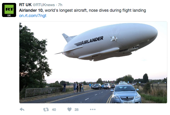 Worlds Largest Military Aircraft Crash Lands During Second Test - Largest military in the world