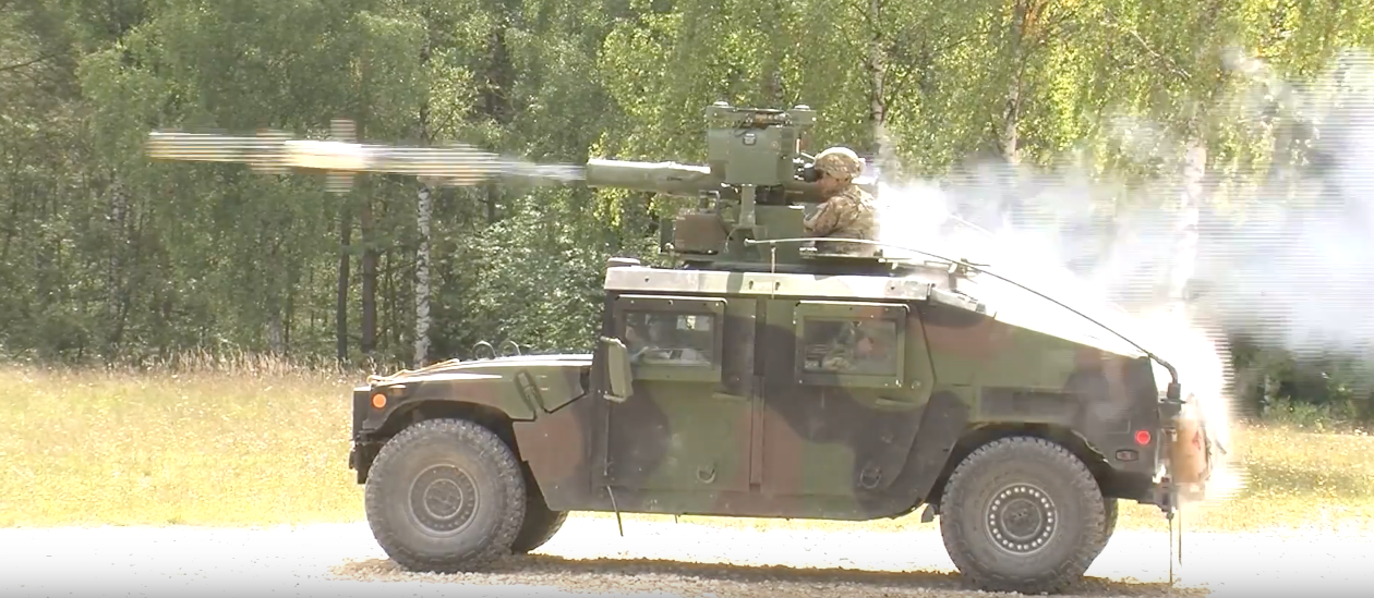 U.S. Paratroopers Show Off Tube-Launched, Optically-Tracked, Wire-Guided Missile In Glorious 1080P Featured