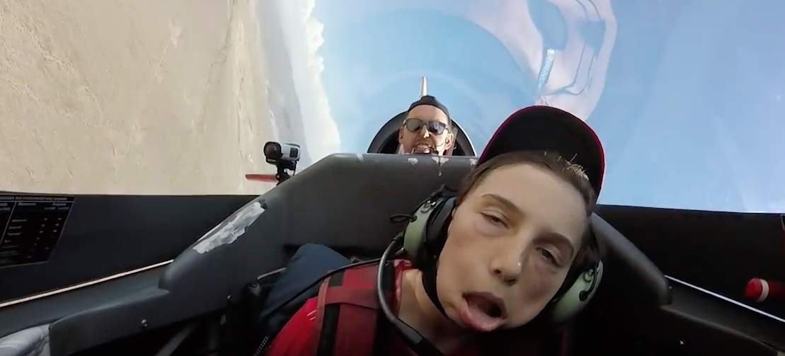 Watch What Happens When A Kid Tries To Take On A Face-Melting 8Gs Featured