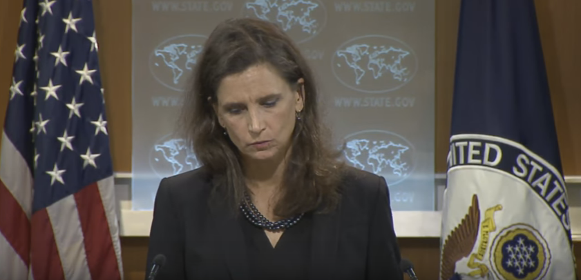 State Department Spokeswoman Elizabeth Trudeau during Aug. 24th Press briefing