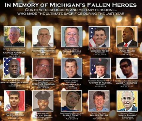 Michigan House Republicans Pay Tribute To Michigan Military Personnel And First Responders Just Before 9/11 Featured