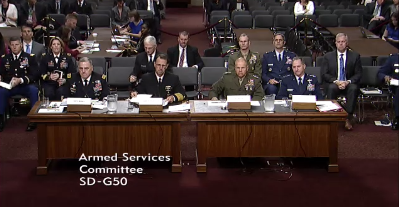 CAN'T FIGHT BACK: Military Leaders Testify That Budget Cuts Are Impeding America's Ability To Defend Against Growing Threats Featured