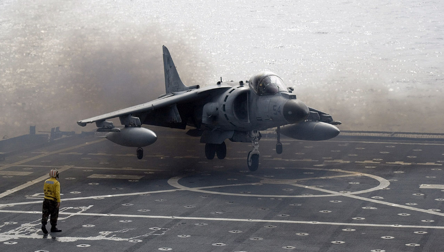 Japanese Locals Lash Out At U.S. Marine Corps After Harrier Jet Crashes Off The Coast Of Okinawa, Japan Featured