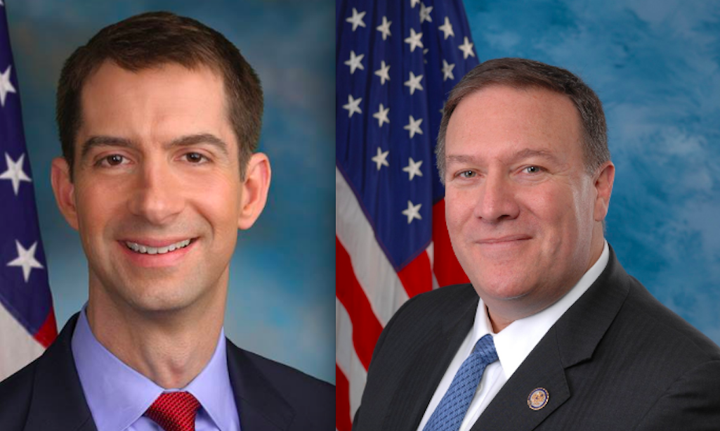 Sen. Cotton and Rep. Pompeo Tackle Immigration In New Wall Street Journal Op-Ed Featured