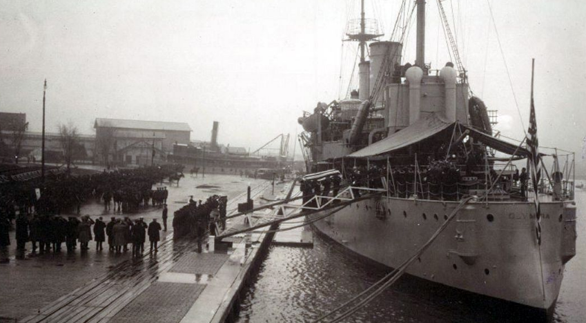 This Day In History: USS Olympia Sails For France To Bring Home The Unknown Soldier From World War I Featured