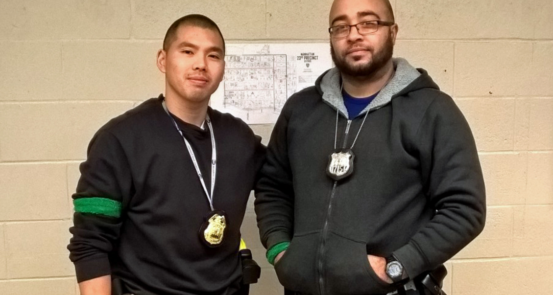 Two Plain-Clothed NYPD Police Officers Save Life Of Unconscious Baby in East Harlem Featured
