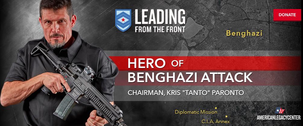 """Benghazi Hero Kris """"Tanto"""" Paronto Announces 2016 Battleground Tour Stops Featured"""