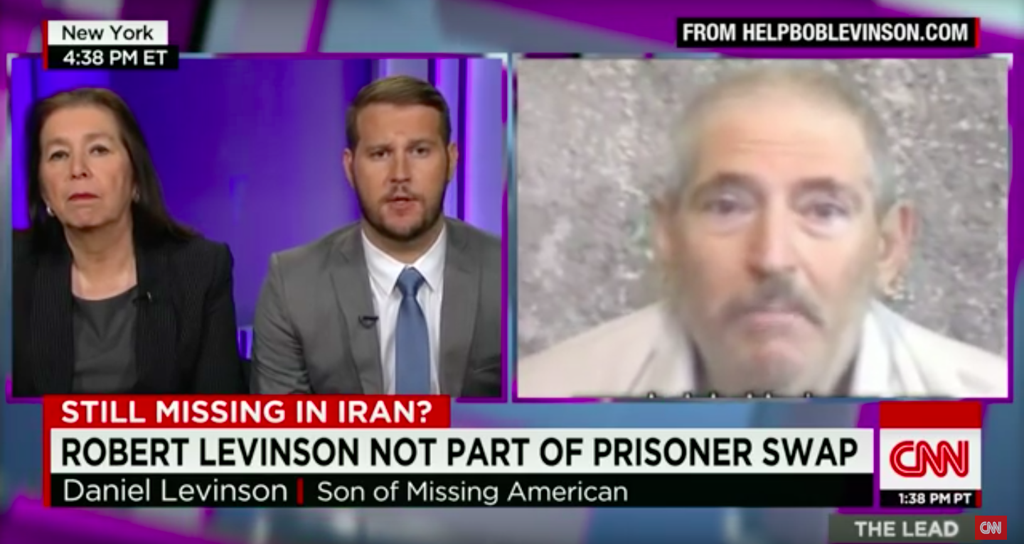 Robert Levinson's family on CNN