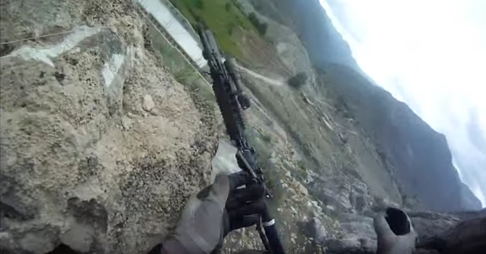 Watch GoPro footage: US soldier barely survives Taliban machine gunfire after getting hit four times during firefight Featured