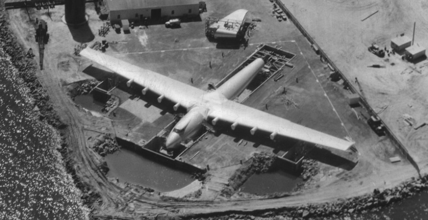 This Day In History: Howard Hughes' Flying Boat, The Spruce Goose, Flies Featured