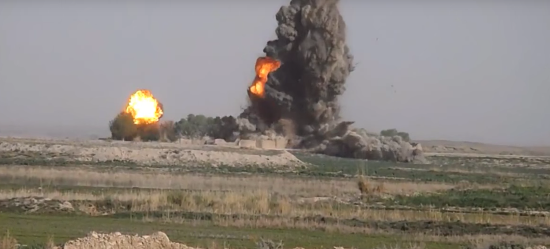 Watch JDAMS Bombs Destroy IED Factories In Slow Motion Featured