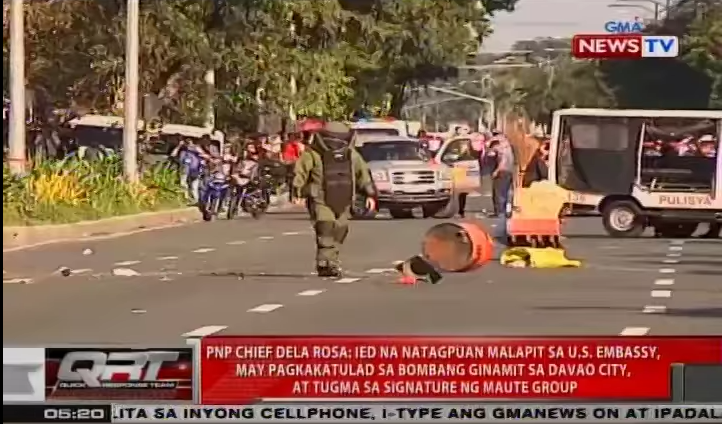 IED Found Outside U.S. Embassy In The Philippines Featured
