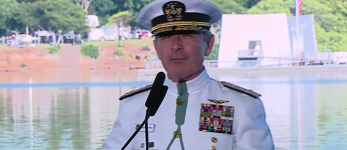 Navy Admiral Trolls Colin Kaepernick During Pearl Harbor Commemoration Speech Featured