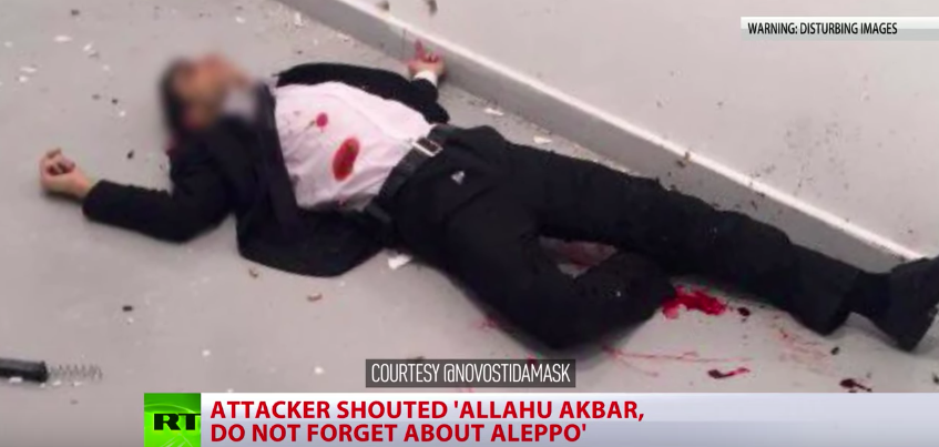 BREAKING: (UPDATED) Russian Ambassador Shot Dead In Turkey | American Military News