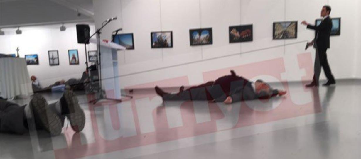 BREAKING: (UPDATED) Russian Ambassador Shot Dead In Turkey Featured