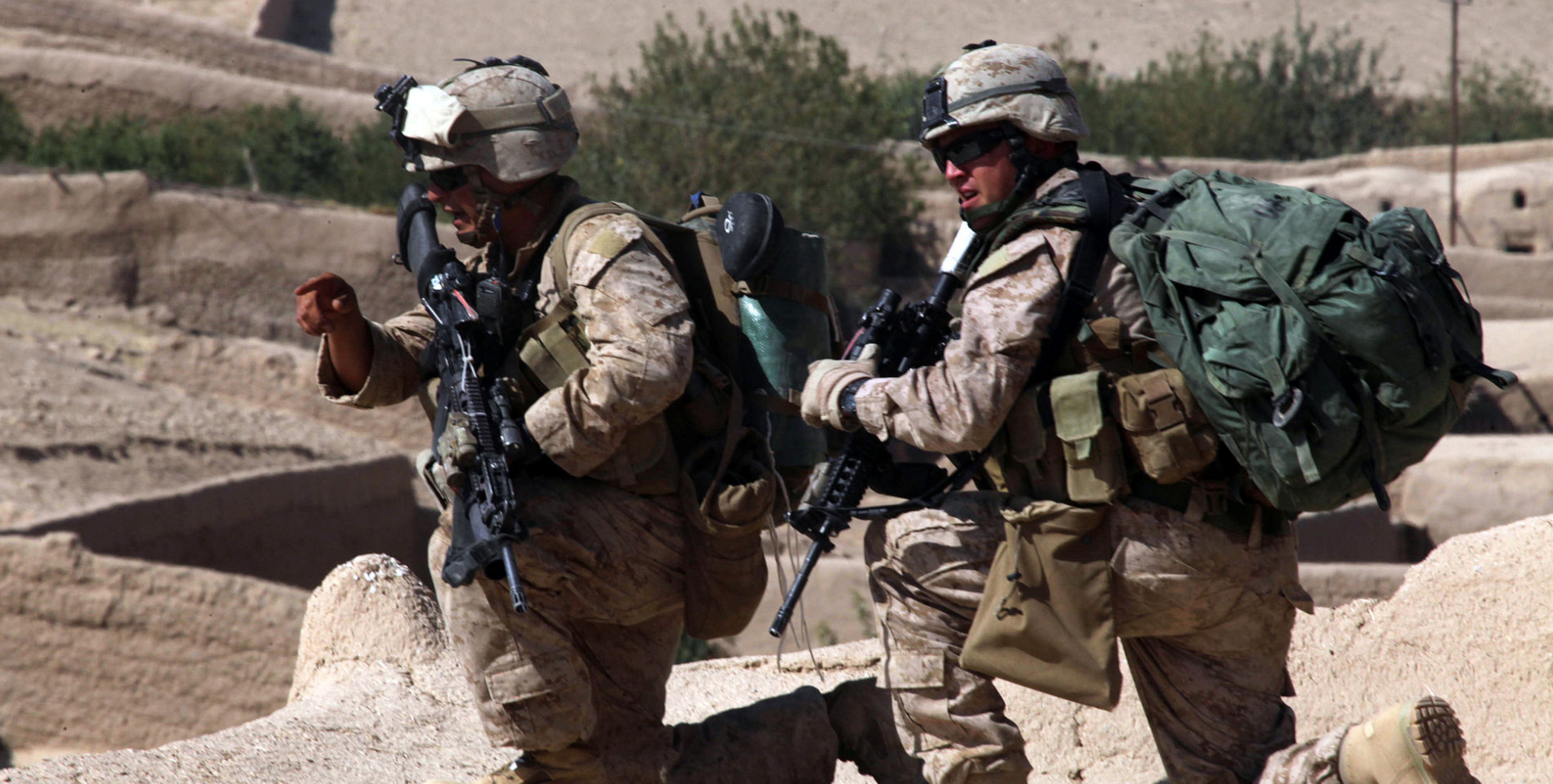 Years After Famous Marine Battle, Taliban Completely Retake Afghan City Of Sangin Featured