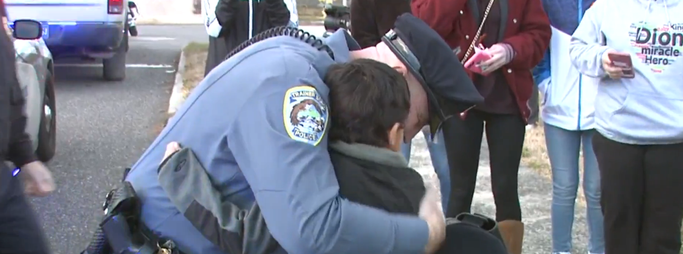 Cancer Stricken Police Officer Surprises 5-Year-Old With Uniform Featured