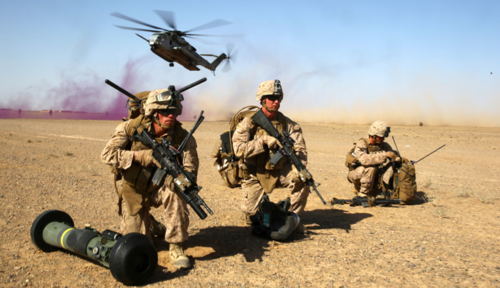 Obama Sending 300 Marines Back To Afghanistan's Helmand Province To Fight The Taliban Featured