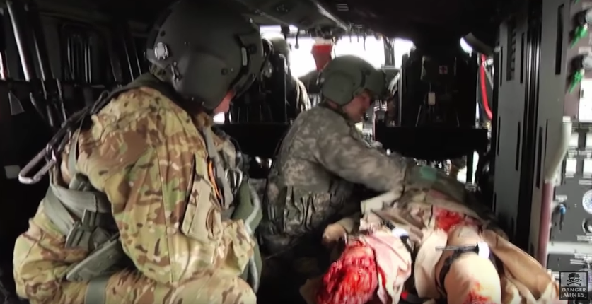 Check Out This Insane Combat Medevac Training Using Realistic Wounded Dummies Featured