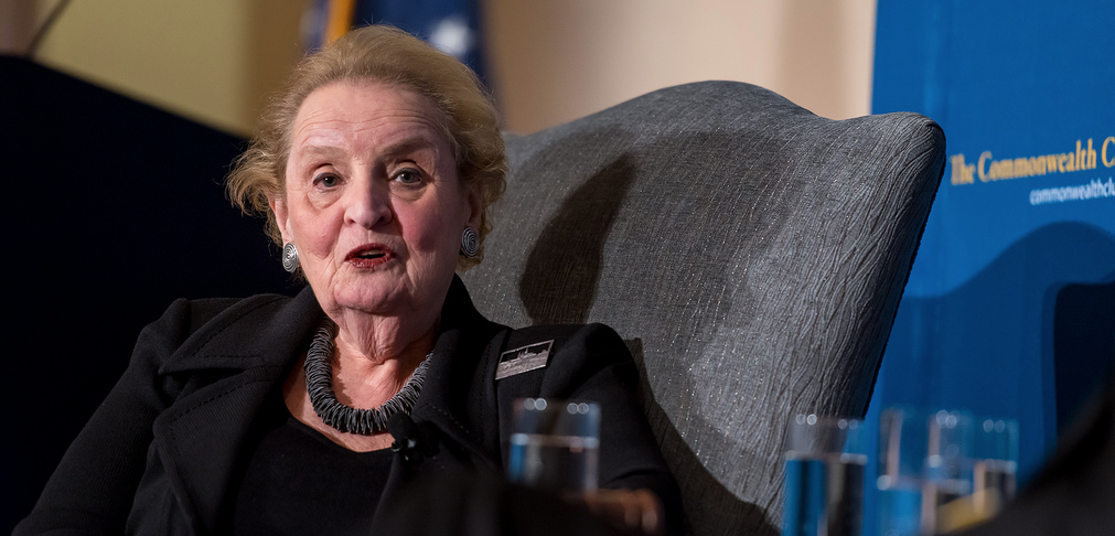 "Madeleine Albright: ""I Stand Ready To Register As Muslim"" Featured"