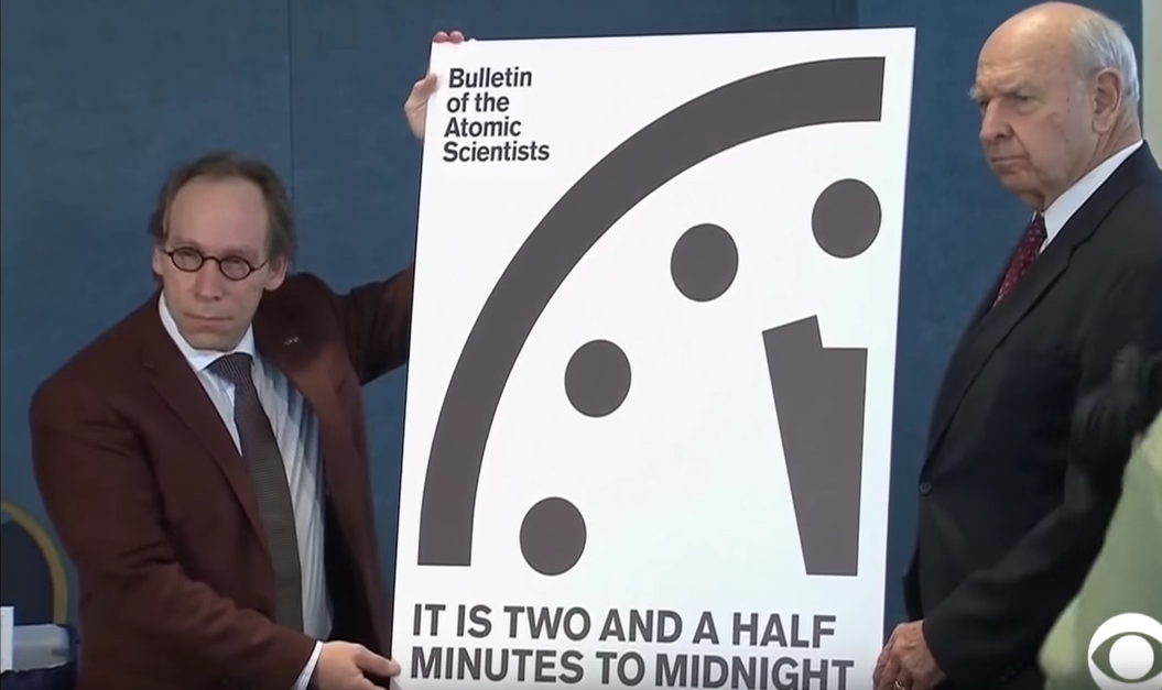 Doomsday Clock Edges 30 Seconds Closer To Midnight Featured