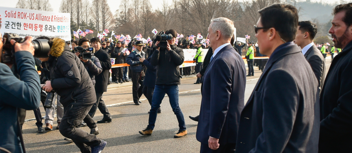 (PICS) Secretary Mattis Received A Warm Welcome During His Trip To South Korea Featured