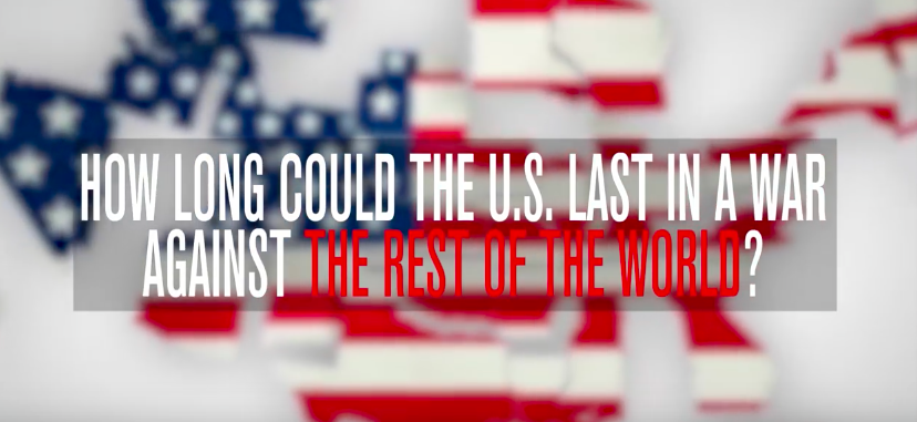 How Long Could The U.S. Last If It Went To War With The Entire World At Once? Featured