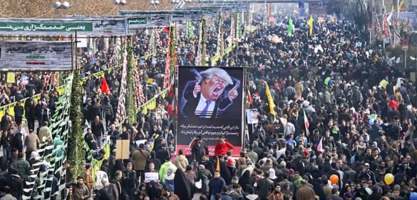 "Hundreds Of Thousands In Iran Chant ""Death To America"" & Burn Trump Effigies Featured"